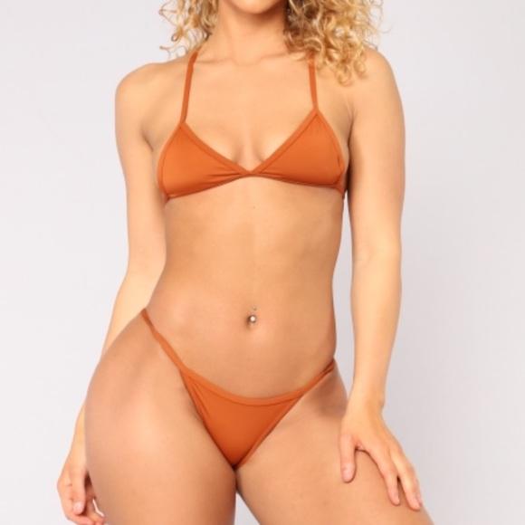 286a29a53a Fashion Nova Swim | Rust Itty Bitty Bikini | Poshmark